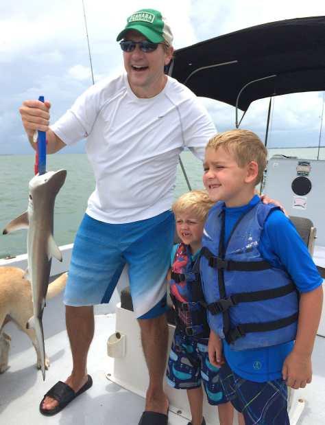 Blacktip Shark 4, Sanibel Fishing & Captiva Fishing, Friday, 7-25-15 ~ #Sanibel #Captiva.