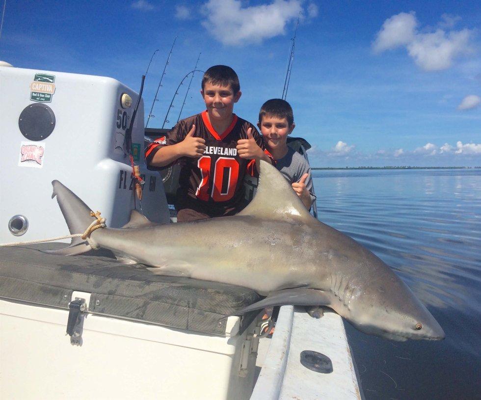 Bull Shark, Catch & Release, North Captiva, Sanibel Fishing & Captiva Fishing, Tuesday, September 20, 2016.