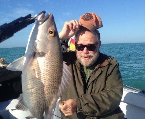 Snapper, Sanibel Fishing & Captiva Fishing, Sanibel Island, Thursday, February 2, 2017.