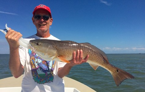 Redfish, Oyster Bars, Sanibel Fishing & Captiva Fishing, Sanibel Island, Saturday, March 11, 2017.