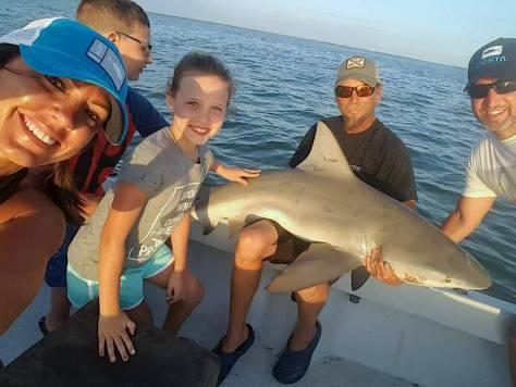 Small Bull Shark, Catch & Release, Sanibel Fishing & Captiva Fishing, Sanibel Island, Thursday, March 30, 2017.