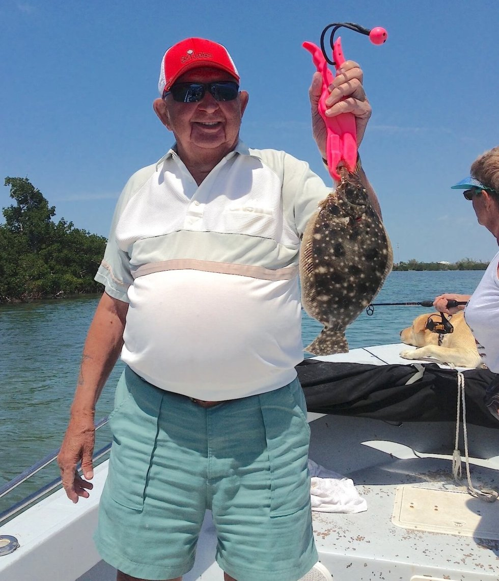 Flounder Fishing, Sanibel Fishing & Captiva Fishing, Sanibel Island, Thursday, May 11, 2017.