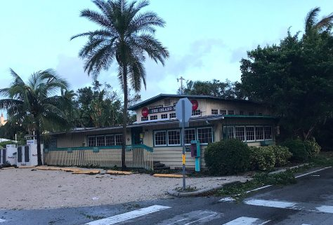 Hurricane Irma. Island Store, Captiva Village, Captiva Island. About 6:00 AM E, Hurricane Irma, Sanibel & Captiva, Update, September 11, 2017.