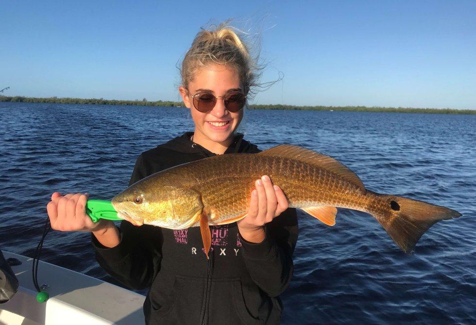 Redfish, Sanibel Fishing & Captiva Fishing, Sanibel Island, Friday, December 15, 2017, [File Photo - Friday, October 20, 2017].