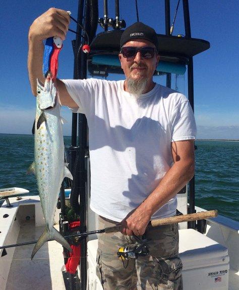 Spanish Mackerel, Catch & Release, Sanibel Fishing & Captiva Fishing, Sanibel Island, Monday, November 13, 2017.