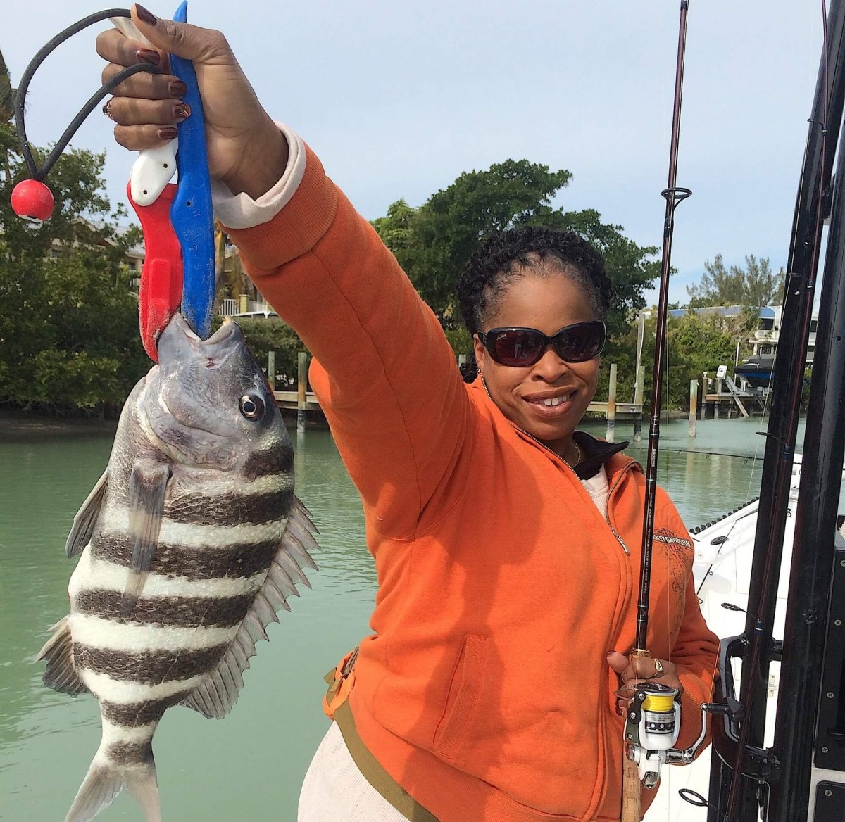 Captiva Fishing, Sheepshead!