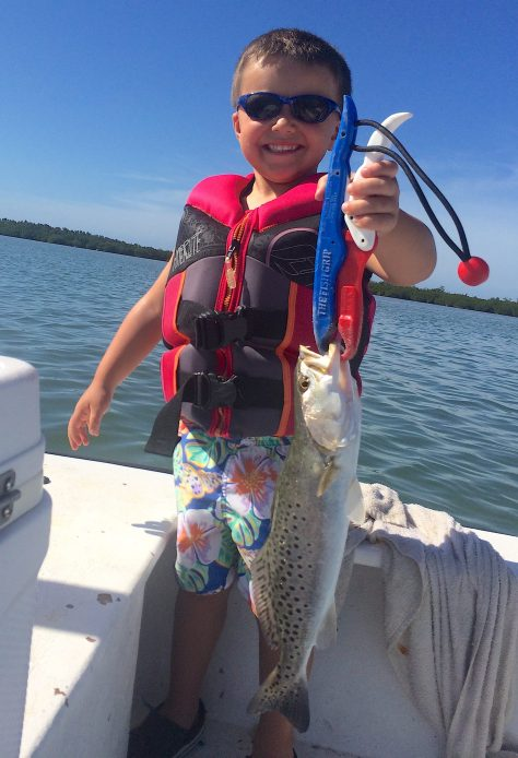 SeaTrout, Grass Beds & Oyster Bars, Catch & Release, Sanibel Fishing & Captiva Fishing, Sanibel Island, Sunday, February 11, 2018.