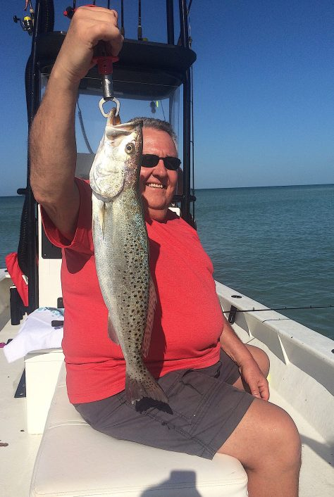 More SeaTrout, Grass Beds & Oyster Bars, Catch & Release, Sanibel Island Fishing Charters & Captiva Island Fishing Charters, Sanibel Island, Monday, February 26, 2018.