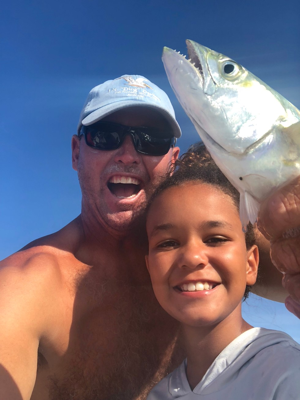 Spanish Mackerel, Catch & Release, Sanibel Island Fishing Charters & Captiva Island Fishing Charters, Sanibel Island, Friday, June 29, 2018.