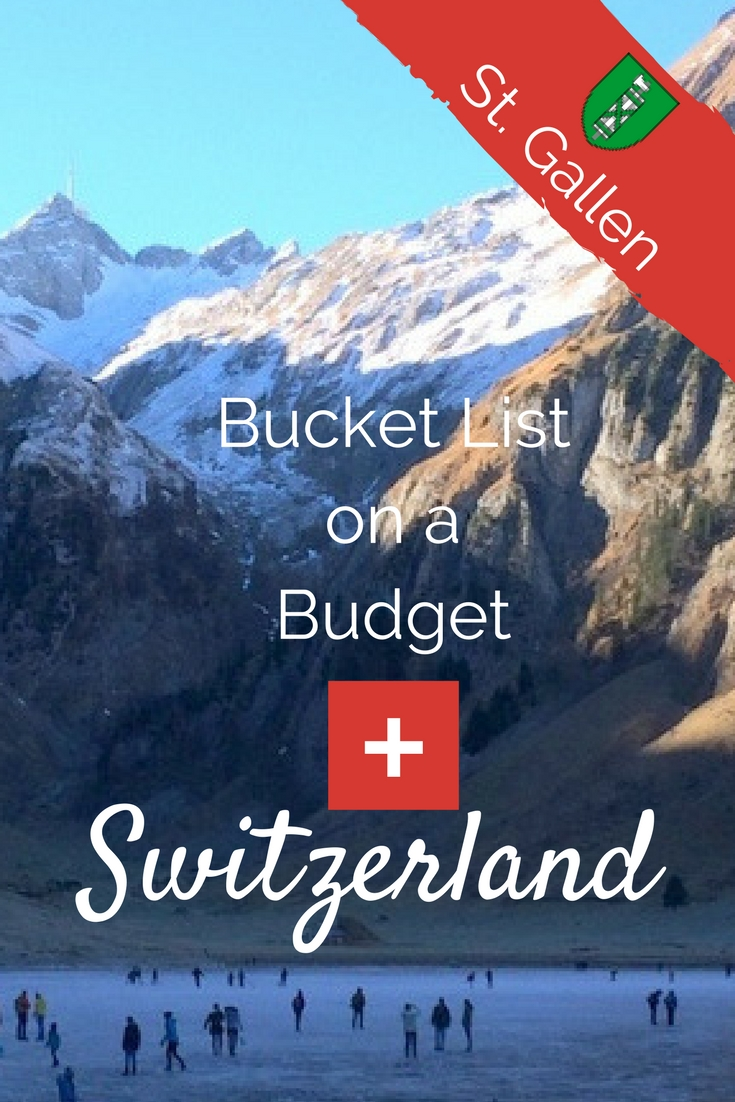 Bucket List on a Budget: St.Gallen, Switzerland. I'm your Switzerland travel guide. Find out what's free & cheap and where to sleep!