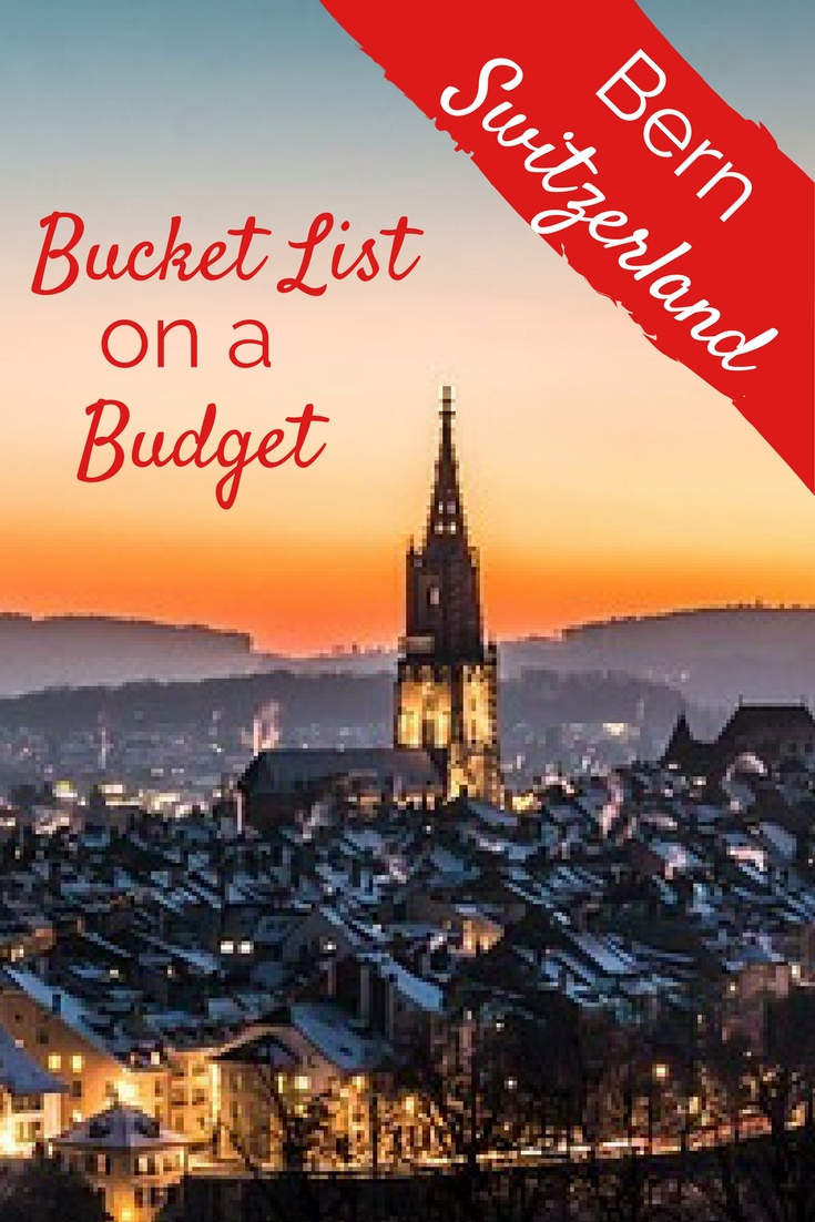 Bucket List on a Budget - Bern, Switzerland. We went for the museum. We stayed for the park, the bears, the shopping, the culture and food.