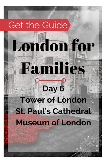 London things to do on a family travel budget. Buy the London for Families City Guide for free and cheap London things to do in the City of London. Visit St. Paul's Cathedral, the Museum of London, the Tower of London & so much more!