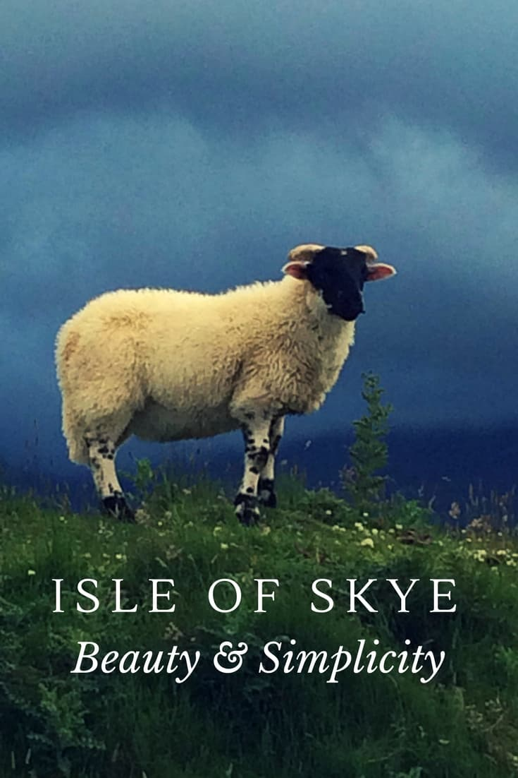 Experience the beauty & simplicity of the Isle of Skye, Get outdoors and be prepared to get wet.