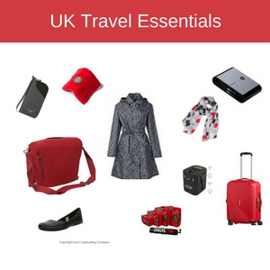 Affordable fashion for the budget traveler. UK Travel Essentials for those looking for affordable fashion that fits in a carry-on.