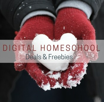 Stop scrolling now! The best digital homeschool deals & freebies are right here! I've found some fun-lovin' and absolutely fascinating February freebies and down-right amazing digital deals on Valentines, Washington & Lincoln, Fibonacci, Latin and Chemistry. #February #HomeschoolDeals #DigitalHomeschool #Valentines #PresidentsDay