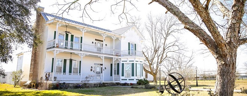 Texas 1883 Folk Victorian Farmhouse
