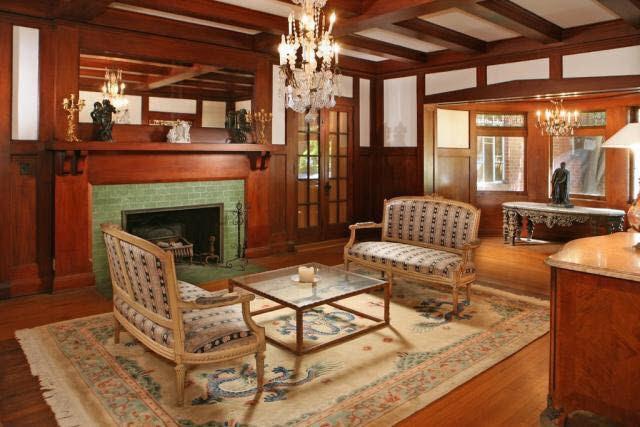 California 1908 Famous Alfred Rosenheim Mansion