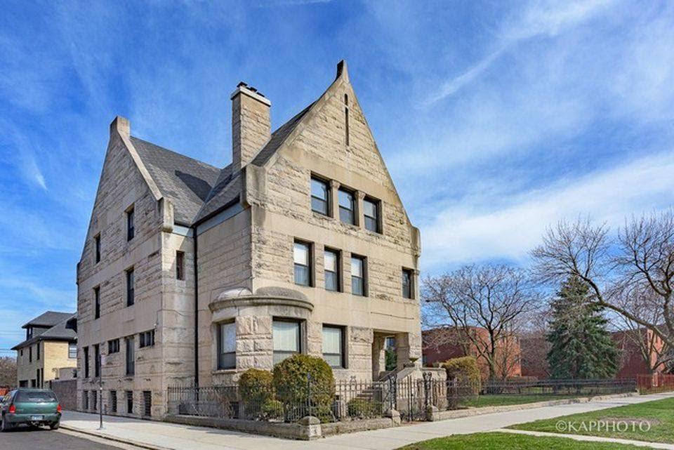 1890 Thomas A Wright House In Chicago Illinois