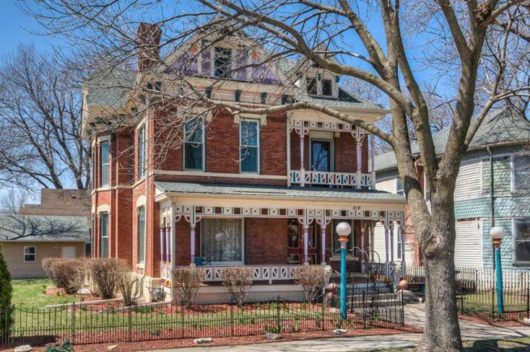 1888 Brick Victorian In Council Bluffs Iowa