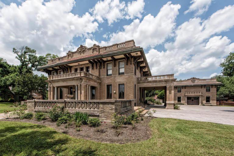1910 Miguel House In Waco Texas