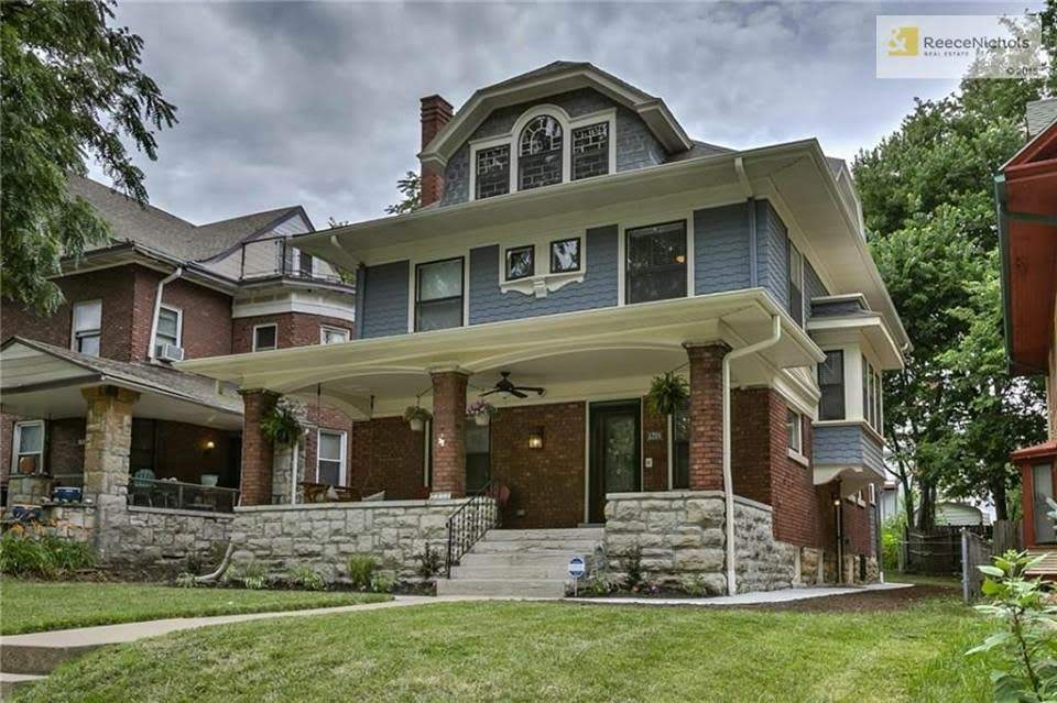 1908 Craftsman Style House For Sale In Kansas City Missouri