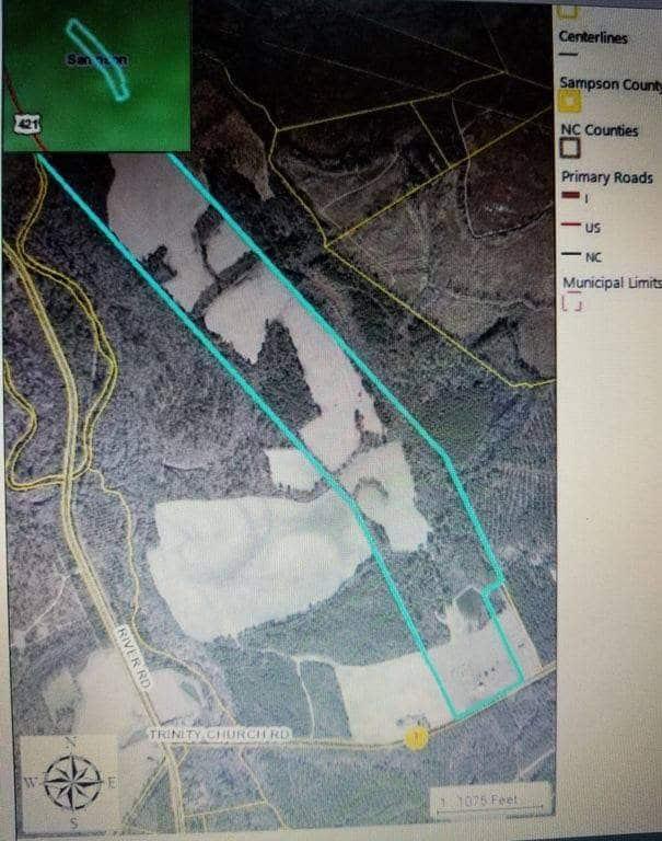 1837 Plantation On 156 Acres For Sale In Magnolia North Carolina