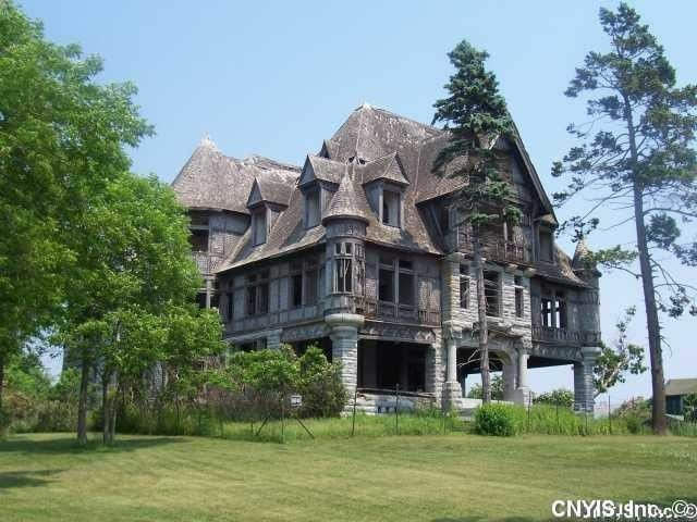 60f9ed336c64 1895 Abandoned Mansion For Sale In Cape Vincent New York ...