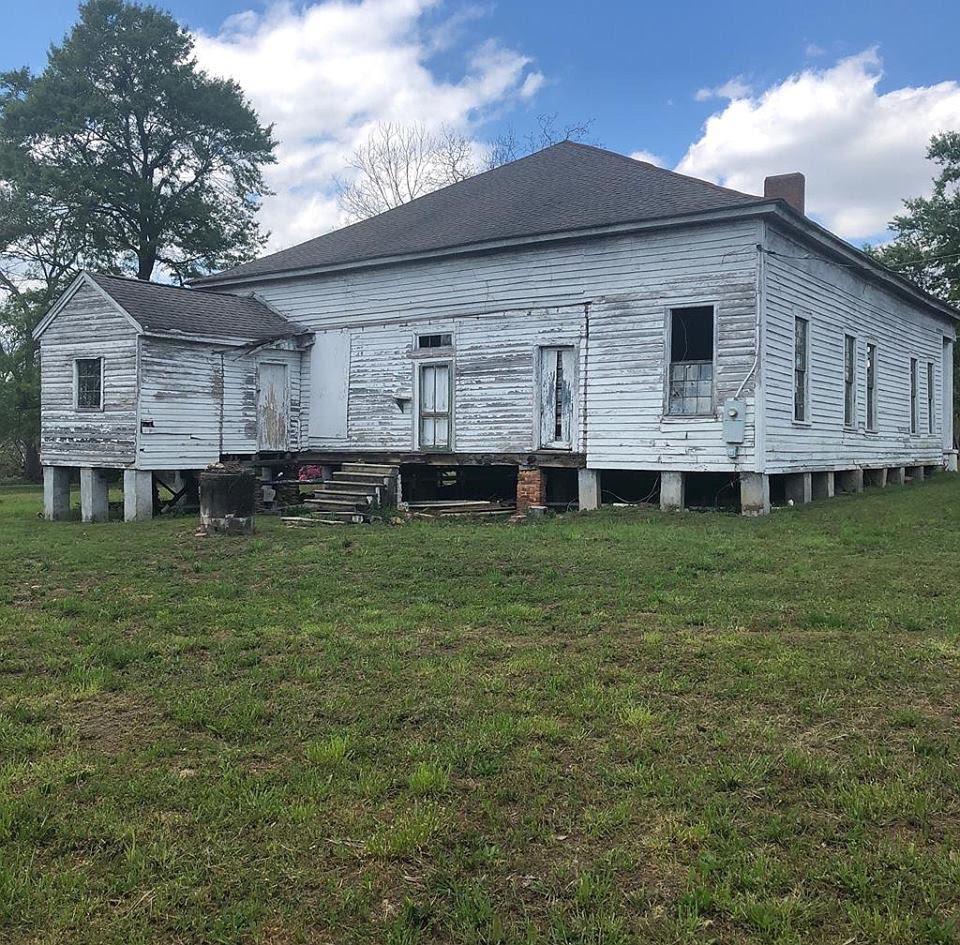 1838 Abandoned House For Sale In Salem Alabama
