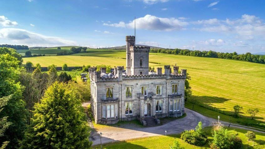 1866 Dalmoak Castle For Sale In Dumbarton Scotland