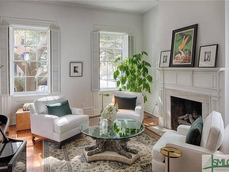 1858 Israel Dasher House For Sale In Savannah Georgia