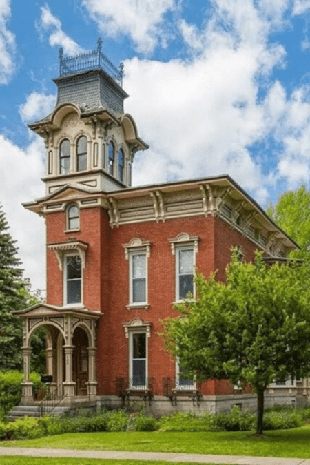 1880 Italianate For Sale In Watertown New York