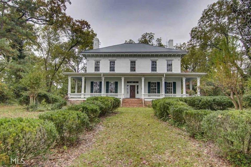 1838 Historic Jordan-Bellew For Sale In Monticello Georgia