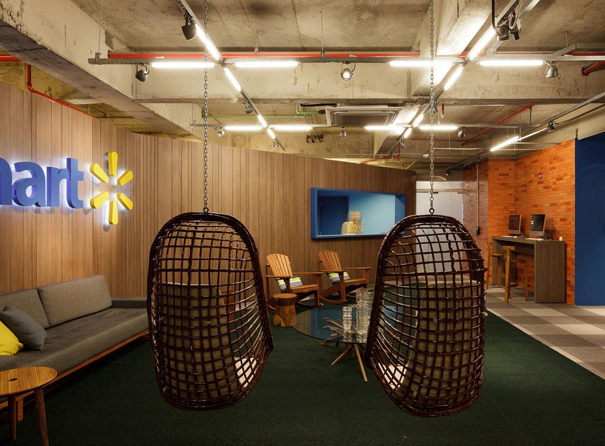 kitchen chairs at big lots purchase online walmart.com headquarters in sao paulo by estudio guto requena - captivatist
