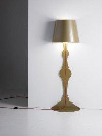 A Floor Lamp that Wraps Around the Corner - Captivatist