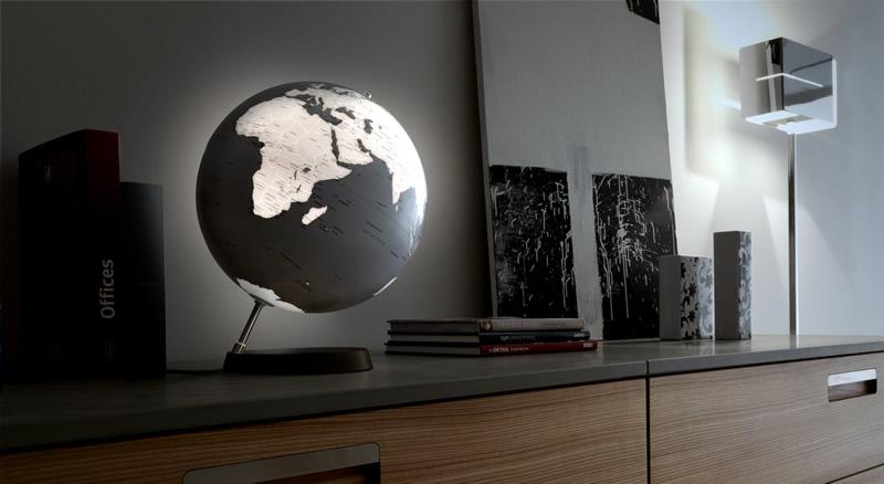 living room themes modern dark wood furniture decorating ideas decorative world globe by atmosphere - captivatist