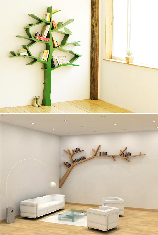 Modern Home Decorating Ideas Funky Storage Solutions