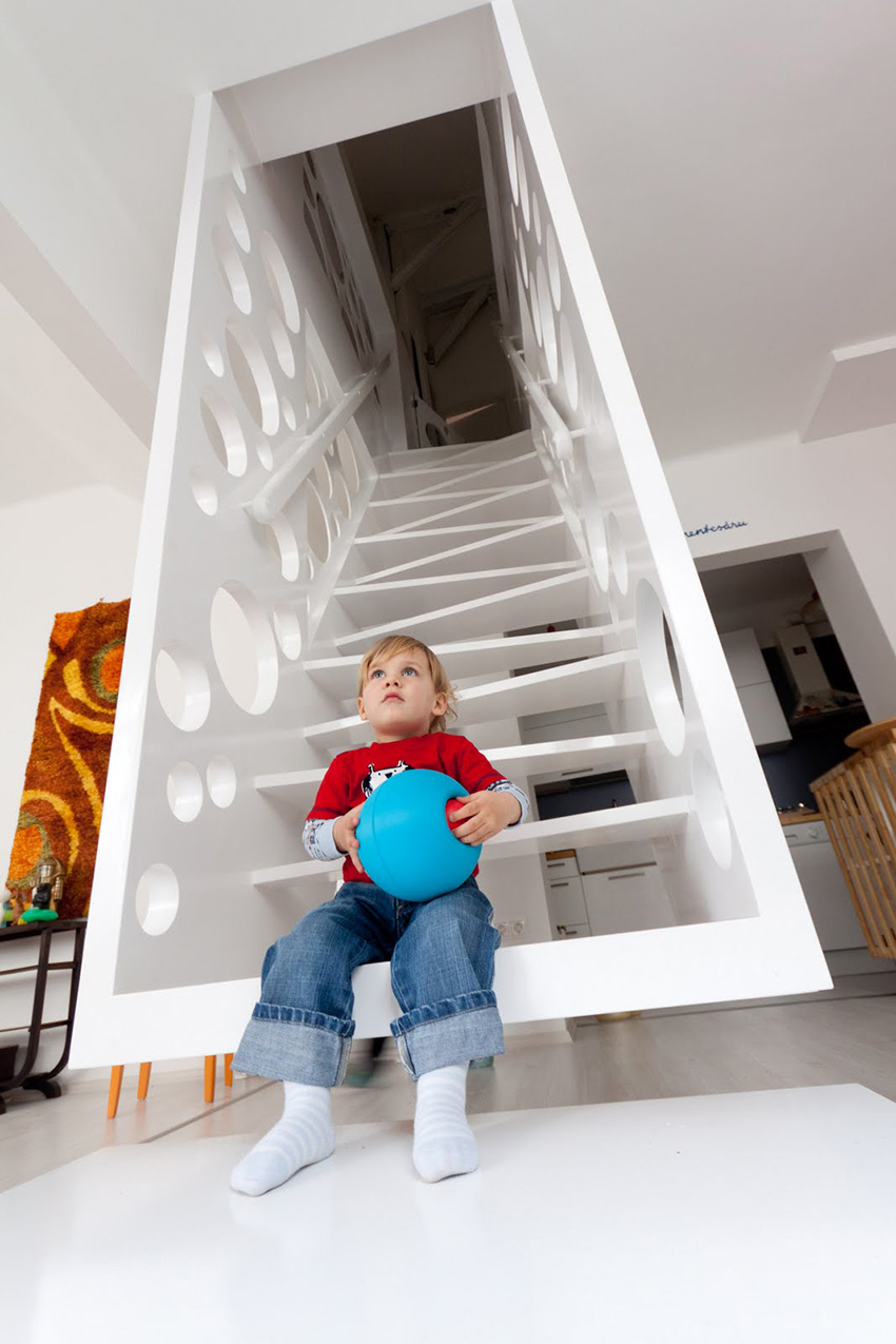 Hanging Staircase Photos can you say cheese  Captivatist