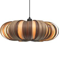Modern Wood Veneer Lamps by Passion 4 Wood - Captivatist