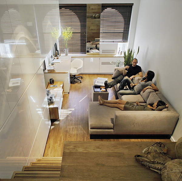 Small Apartment Design Solutions for a Narrow Space  Captivatist