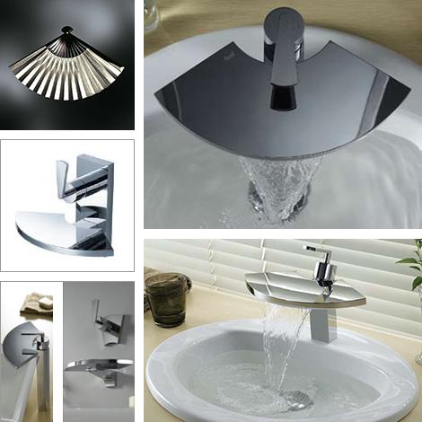 kitchen decor themes moen chateau faucet unusual bathroom faucets by fluid - captivatist