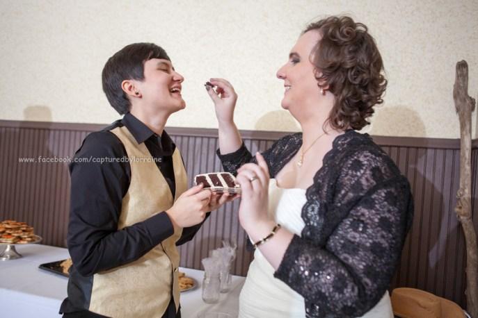 Wedding Bride LGBT Gay cake