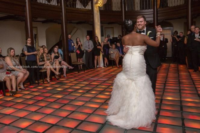 Wedding Birde Groom Dance Hotel Baker