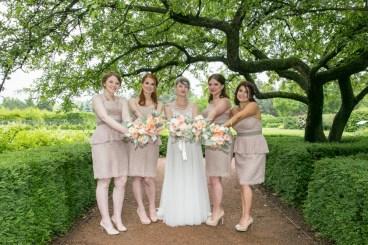 Morton Arboretum Wedding, Bridal Party