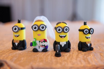 Wedding cake minions