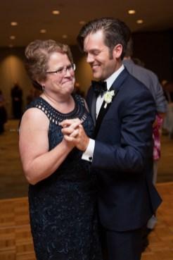 Morton Arboretum Wedding , Mother Son Dance