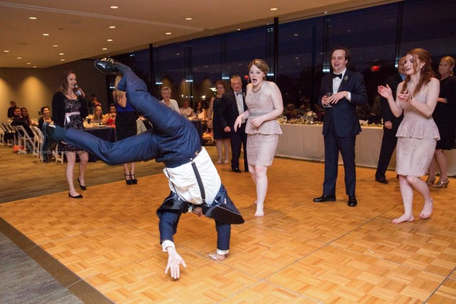 Morton Arboretum Wedding , Wedding Guest Dance