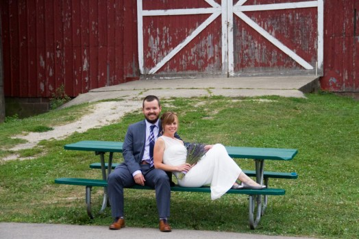 bride groom portrait barn, LeRoy Oakes St Charles