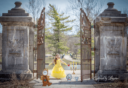 Beauty and the Beast photoshoot 2017