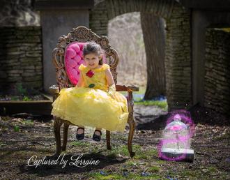 Beauty and the Beast photoshoot Batavia Il photographer