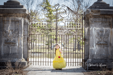 Beauty and the Beast photoshoot St charles Il photographer